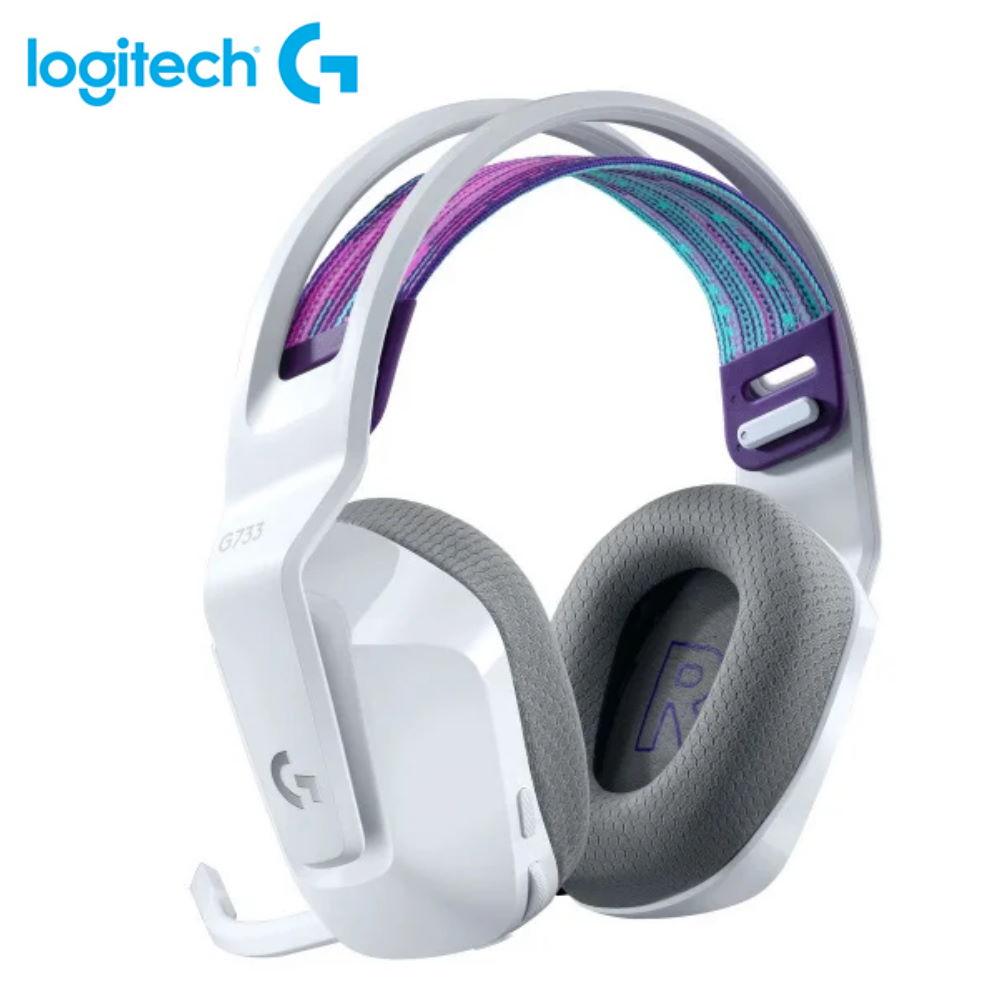 【Logitech 羅技】G733 RGB炫光無線電競耳機麥克風 白【三井3C】