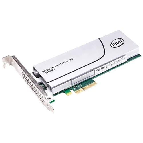 Intel SSD 750 Series 400GB AIC 400G PCIe Gen3 x4 PCI-Express 3.0 x4 MLC HHHL (CEM2.0) Internal Solid State Drive SSDPEDMW400G4X1