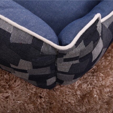 寵物床 狗窩可拆洗四季通用寵物墊子泰迪小型大型犬拉布拉多狗床冬天保暖『LM3309』