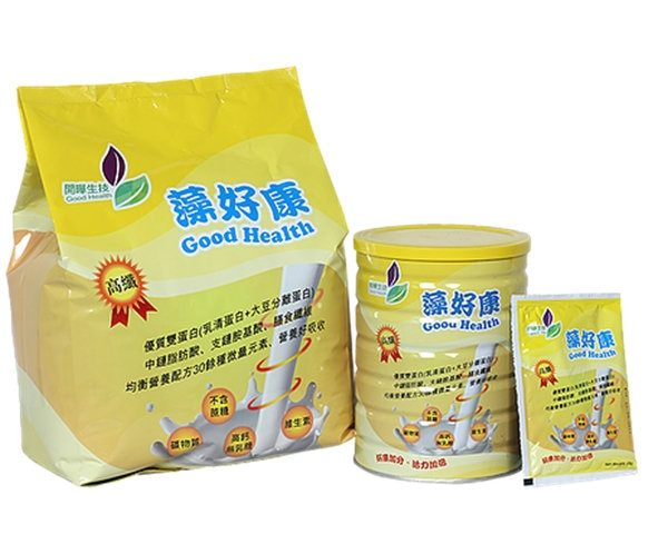 藻好康 均衡營養配方 高纖 3公斤/包★愛康介護★