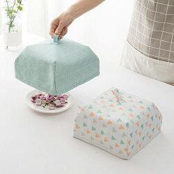 PS Mall 創意可折疊蓋菜罩 餐桌罩 保溫防蟲遮菜傘 大號【J529】