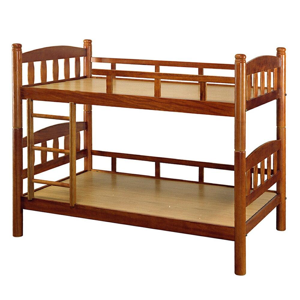 【全館現貨 下殺45折起】漢克實木3尺直板圓柱雙層床(不含床墊)專人組裝 上下舖 兒童床 宿舍 台灣製 原森道