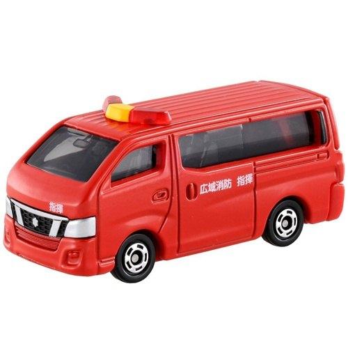 【 TOMICA ] TM027 日產 NV350 消防指揮車