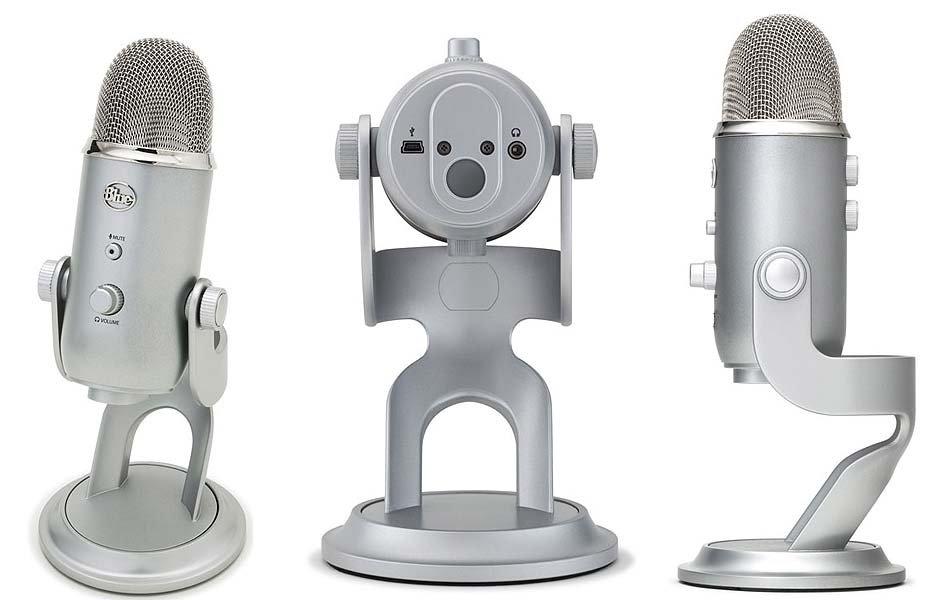 全新Blue Yeti USB Microphone 專業型電容式 USB 麥克風 專業型電容式 USB 麥克風 (全新盒裝)