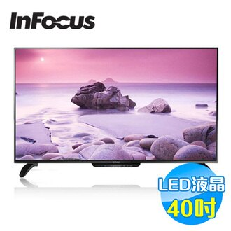 鴻海 INFOCUS 40吋LED液晶電視 XT-40IN800