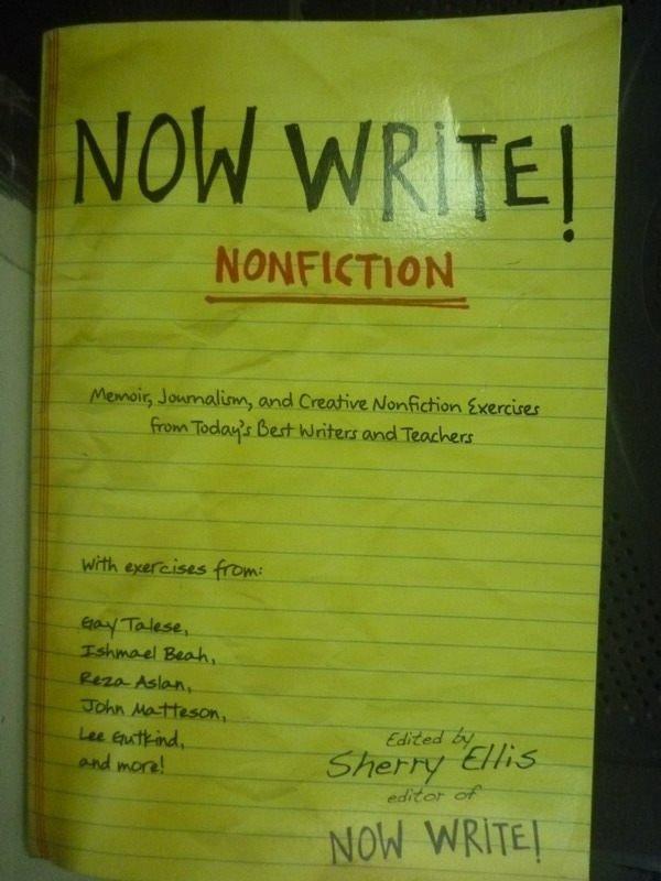 【書寶二手書T4/原文書_HSM】Now Write! Nonfiction: Memoir