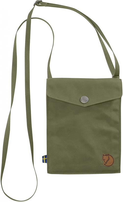 Fjallraven 瑞典北極狐 旅行隨身袋/護照包/口袋包 24221 Pocket 620 綠
