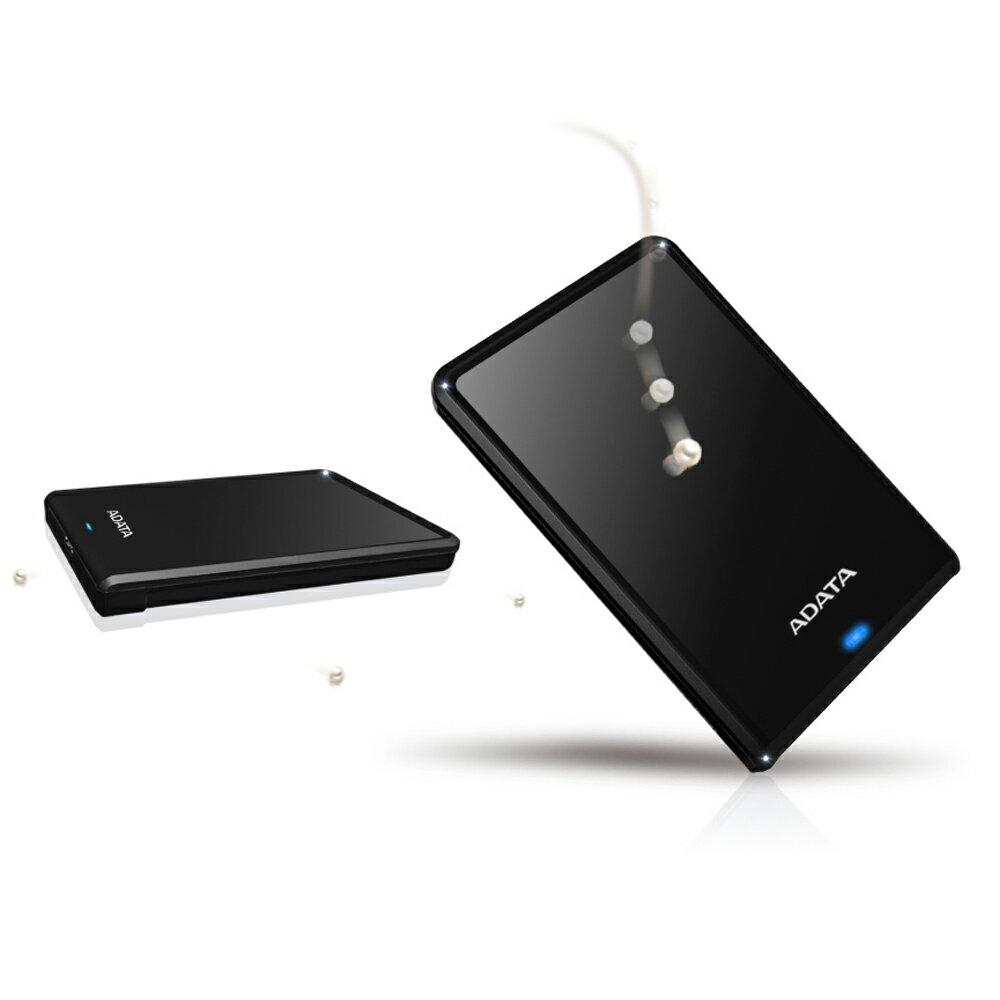 【滿3千10%回饋】ADATA 威剛 HV620S 1TB(黑) 2.5吋行動硬碟