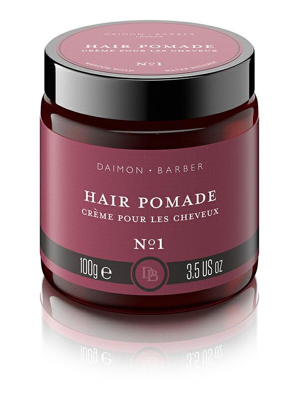 Daimon Barber NO.1 Hair Pomade 歐巴水基性 改良式水性髮油 貝克漢 可重塑 英國
