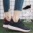 【KSA01】綁帶休閒鞋 運動鞋 慢跑鞋 透氣素色布面材質 3CM跟高 韓版運動風 2色 1