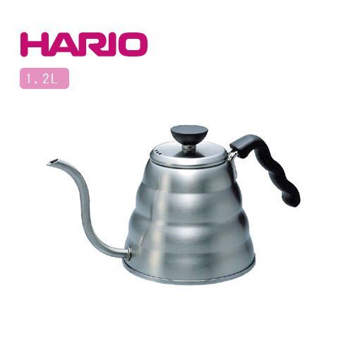 【威豆精品咖啡】(免運費)HARIO 電磁爐咖啡專用滴漏壺-1.2L VKB-120-HSV