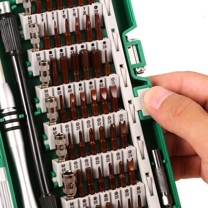 60 in 1 Multi-purpose Precision Screwdriver Set Tweezer Cell Phone Repair Tool 2