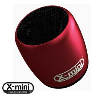 X-mini CLICK【紅】 迷你隨身藍牙喇叭 藍芽遙控喇叭 可支援自拍功能