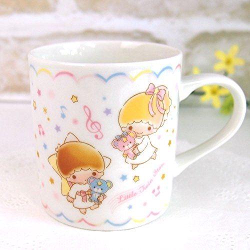 日本製雙子星陶瓷杯杯子馬克杯星空蛋糕303714