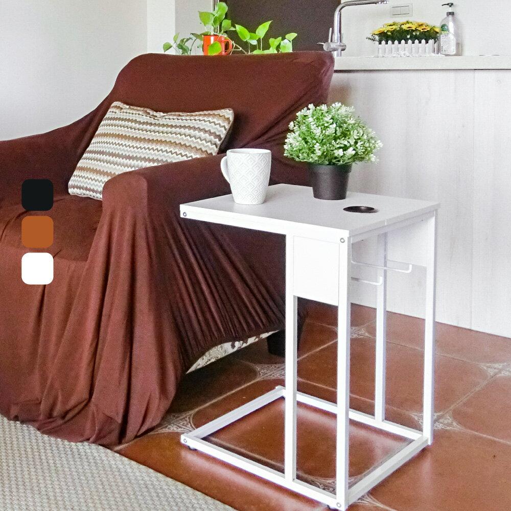 NB桌 ㄈ形多功能活動邊桌【DCA014】 附輪附面紙抽 側桌 書桌 小茶几 MIT免運 Amos 3
