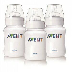 英國【PHILIPS AVENT】PES防脹氣奶瓶260ml(3入) - 限時優惠好康折扣