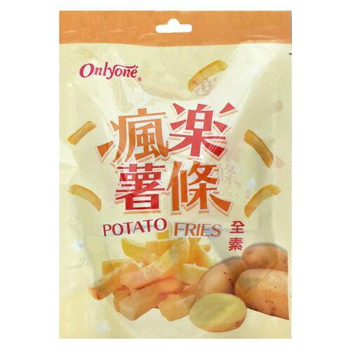 海龍王 瘋樂薯條 100g