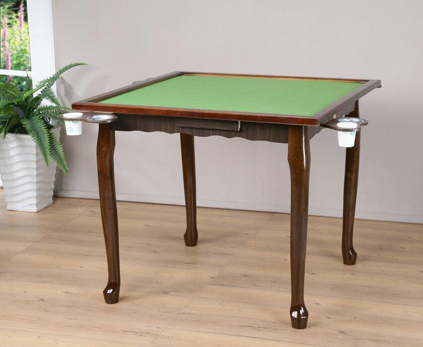 實木虎腳麻將桌 工作桌 萬用桌【馥葉】 型號TA014 另售可折腳麻將桌