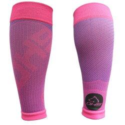 台灣品牌 OH9 慢跑系列---涼感壓力小腿套-粉色