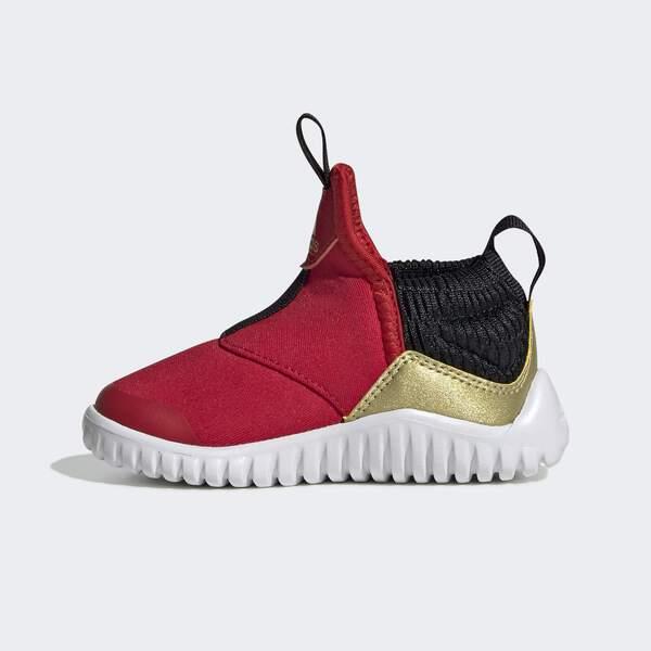 Adidas Rapidazen I [EH1695] 小童鞋 運動 輕量 保護 舒適 透氣 魔鬼氈 穿搭 愛迪達 紅黑