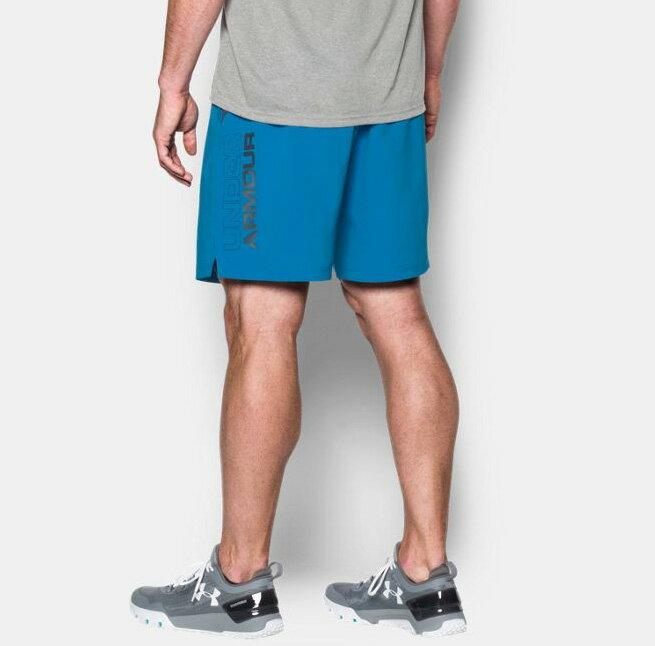 《UA出清6折》Shoestw【1271943-787】UNDER ARMOUR UA服飾 短褲 運動褲 訓練褲 8吋 水藍 男生 1