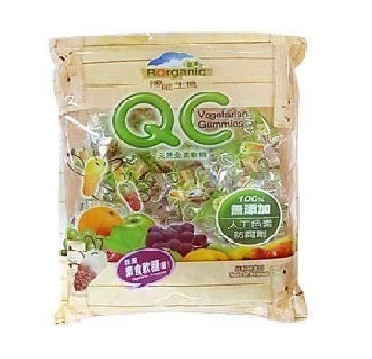 (博能生機)QC天然維他命C水果軟糖 240g/包(素食軟糖)