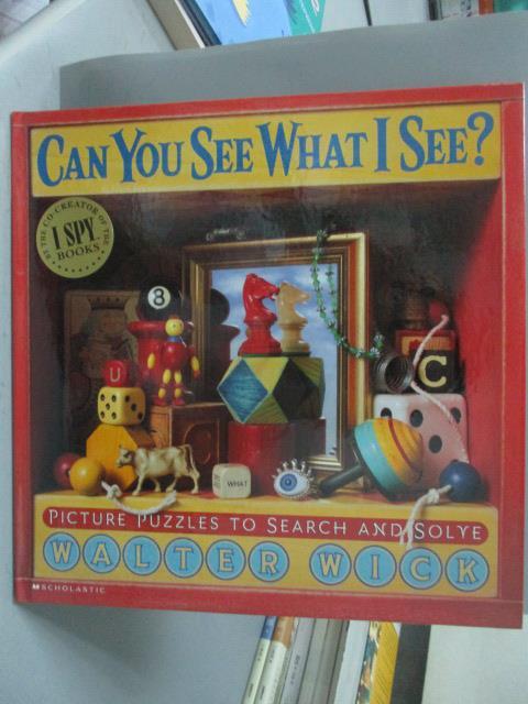 ~書寶 書T2/少年童書_XCB~Can You See What I See : Pic