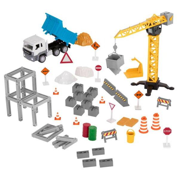 【奇買親子購物網】美國B.Toys建築工程組_Driven系列