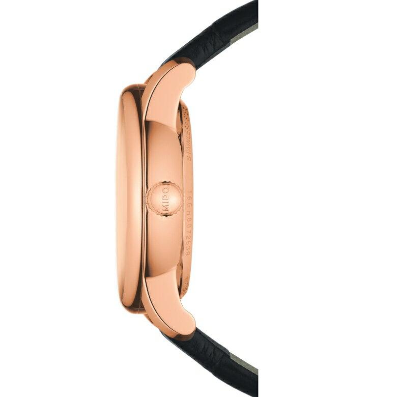 MIDO美度 M0072073603600 / 永恆系列大日期視窗機械腕錶 / 33mm