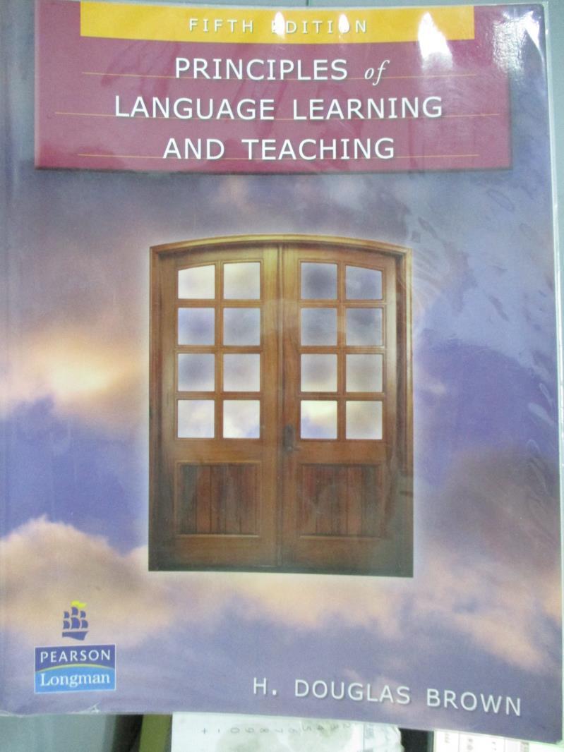 【書寶 書T8/大學教育_ZJR】Principles of Language Learning And Teachi