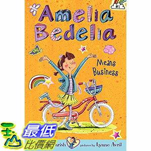 [106美國直購] 2017美國暢銷兒童書 Amelia Bedelia Chapter Book #1: Amelia Bedelia Means Business Paperback