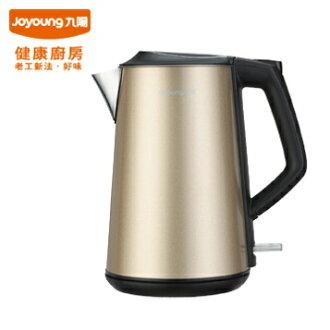 九陽不鏽鋼天鵝壺 JYK-15F06M (香檳金) 雙層304不鏽鋼材質 雙層防燙設計,使用安心