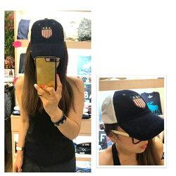 A&F AF Abercrombie & Fitch 春夏新款 斜紋布 棒球帽 經典LOGO  麋鹿公主 歐美時尚 平行輸入精品店