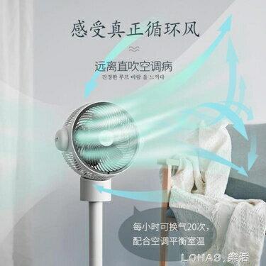 空氣循環扇落地扇立式臺式靜音風扇遙控渦輪對流電風扇 清涼一夏特價