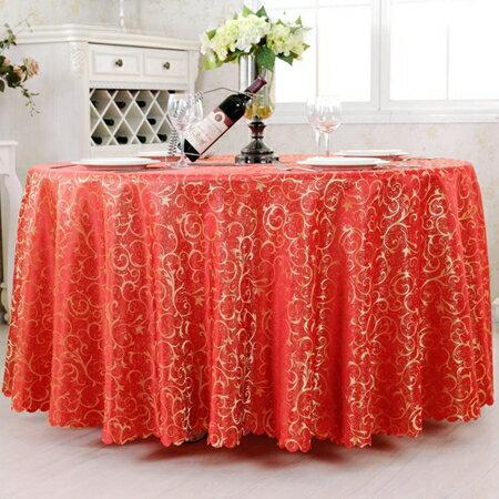 酒店桌布布藝餐廳臺布歐式餐桌布大圓桌桌布餐桌桌布桌巾 清涼一夏特價