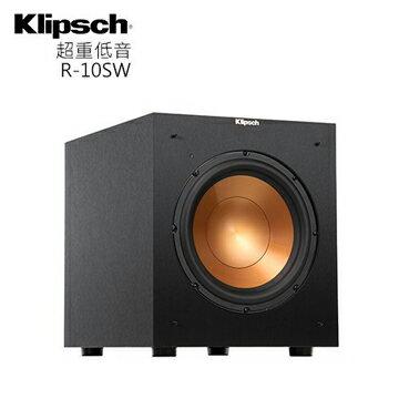 【免運】Klipsch 美國古力奇 R-10SW 重低音喇叭 音響 公司貨 R10SW