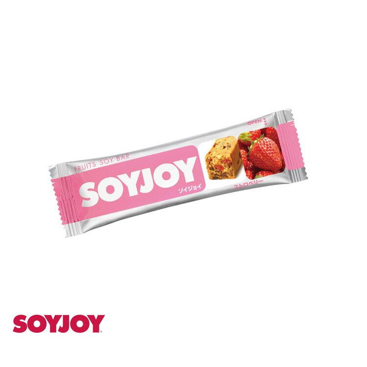 SOYJOY 大豆水果營養棒(草莓/30g)/城市綠洲(營養棒、馬拉松、登山、自行車、運動補給)
