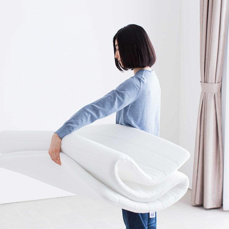 【 日本 airweave 】愛維福 2.5公分 輕型 薄墊 可水洗 日本第一薄墊 1