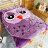 動物造型法蘭絨被毯-夜の貓頭鷹【細緻柔順、極暖、可當棉被使用 】#法蘭絨 #寢國寢城 1