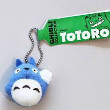 【真愛 】5051000094 Q版珠鍊小吊飾- 藍龍貓背包袱  龍貓 TOTORO 鑰匙圈 掛飾