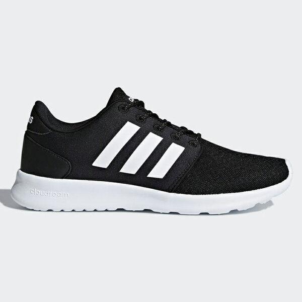 ADIDASCLOUDFOAMQTRACER女鞋慢跑休閒透氣輕量舒適黑白【運動世界】DB0275