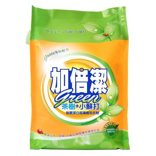 加倍潔小蘇打制菌濃縮洗衣粉補充包2kg【愛買】 - 限時優惠好康折扣