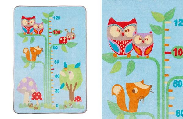 121婦嬰用品館:BABYCITY小樹身高尺盒裝童毯BIUE100*140CM『121婦嬰用品館』