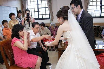 喝茶禮的習俗~(訂婚、結婚)