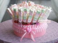 分享幸福的婚禮小物推薦喜糖_餅乾_伴手禮_糕點推薦一定要幸福哦~~幸福花園棉花糖1支9元、婚禮小物、結婚宴客、二次進場