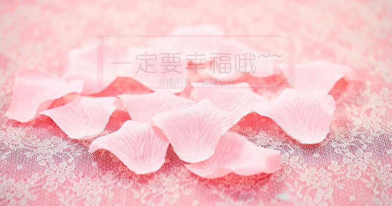 一定要幸福哦~~玫瑰花瓣~~(1包有144片~)、二次進場,花童籃