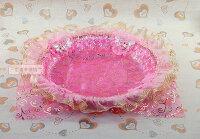 婚禮小物推薦到一定要幸福哦~~真情約定喜糖盤(粉色) ~ 婚禮小物、喜糖盤、結婚宴客