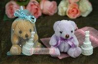 婚禮小物推薦到一定要幸福哦~~歡樂小熊+泡泡水、送客禮、婚禮小物、二次進場