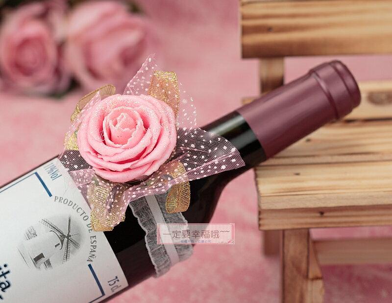 一定要幸福哦~~伴娘花(粉)、手腕花、酒瓶花