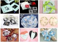 婚禮小物推薦到一定要幸福哦~~玻璃杯墊組~~婚禮小物、姐妹禮、送客禮